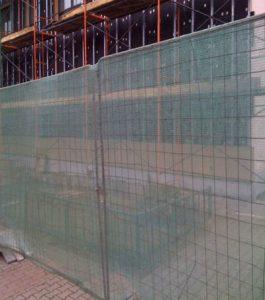 фасадная сетка для строительных площадок